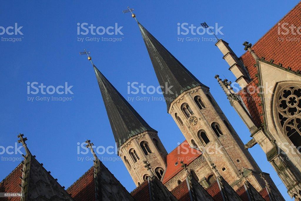 Braunschweiger Baukunst stock photo