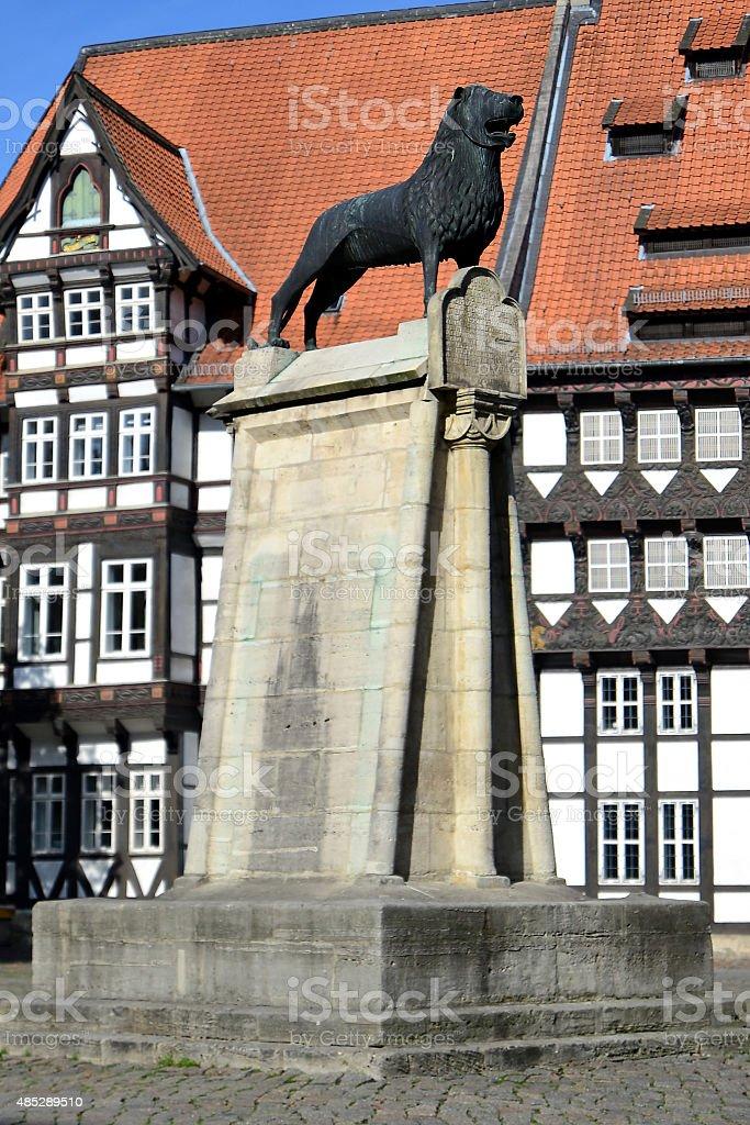Braunschweiger Lion stock photo