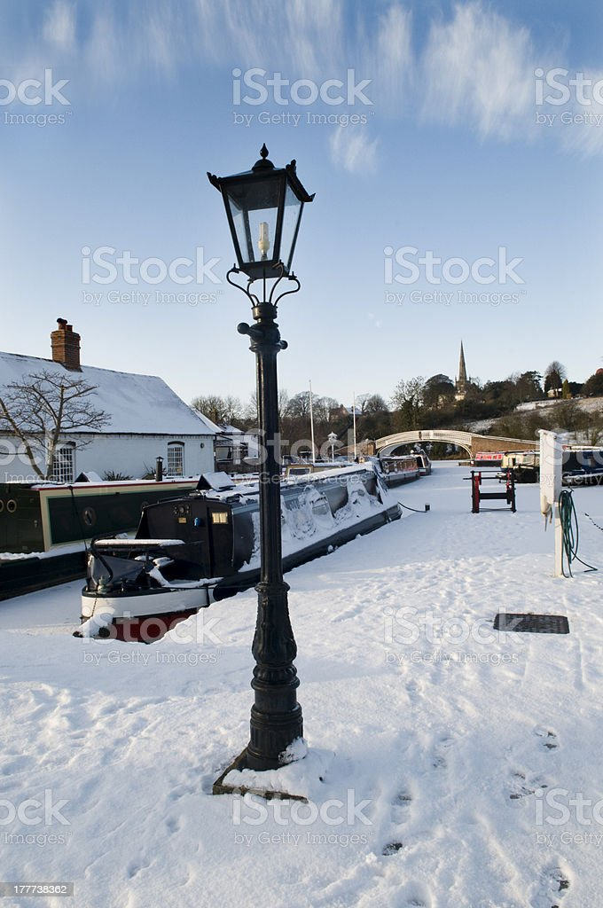 Braunston Marina. Northamptonshire stock photo