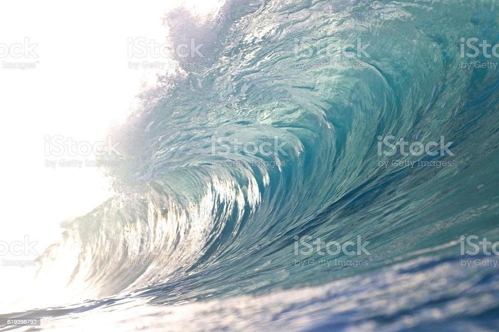 Brave wave stock photo