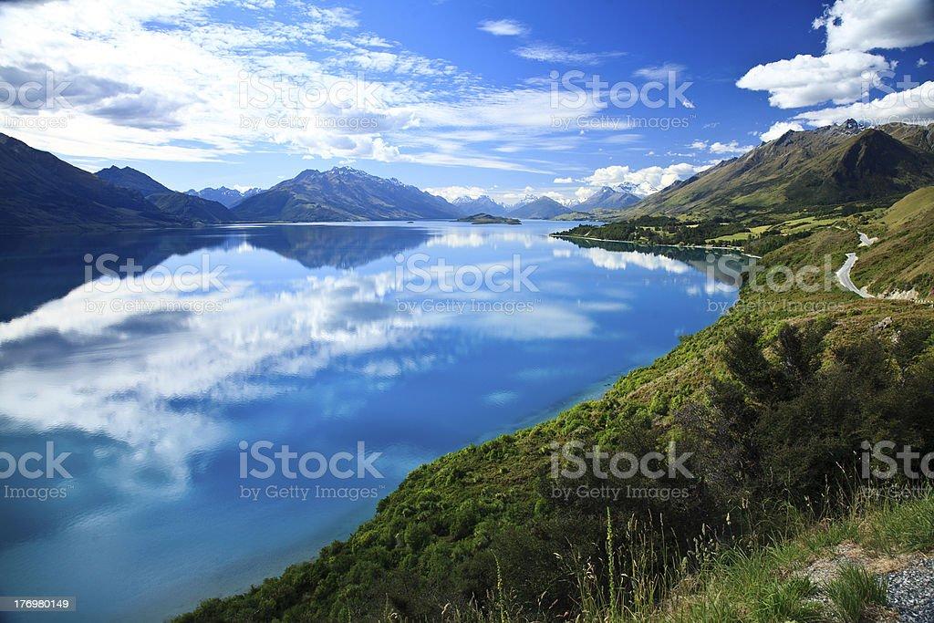 Bravo New Zealand - Lake Wakapitu stock photo
