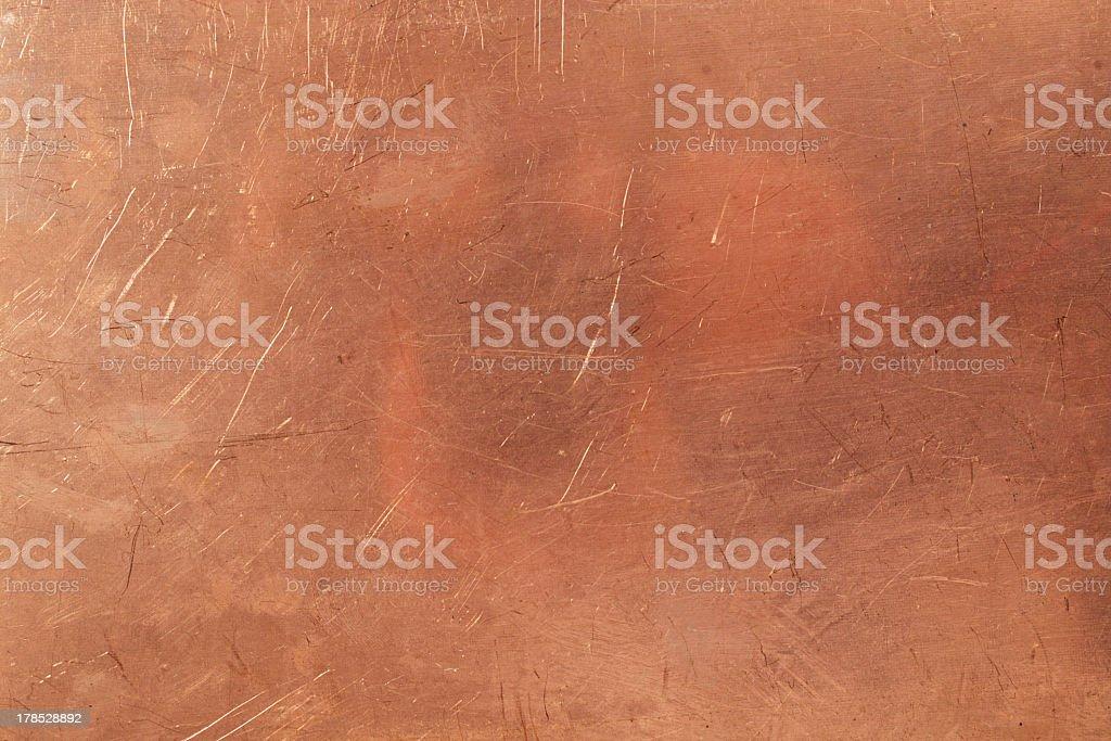 Brazen background stock photo