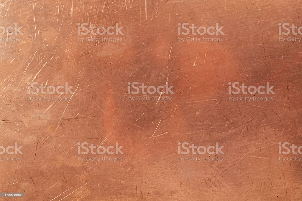 Brazen background stock photo