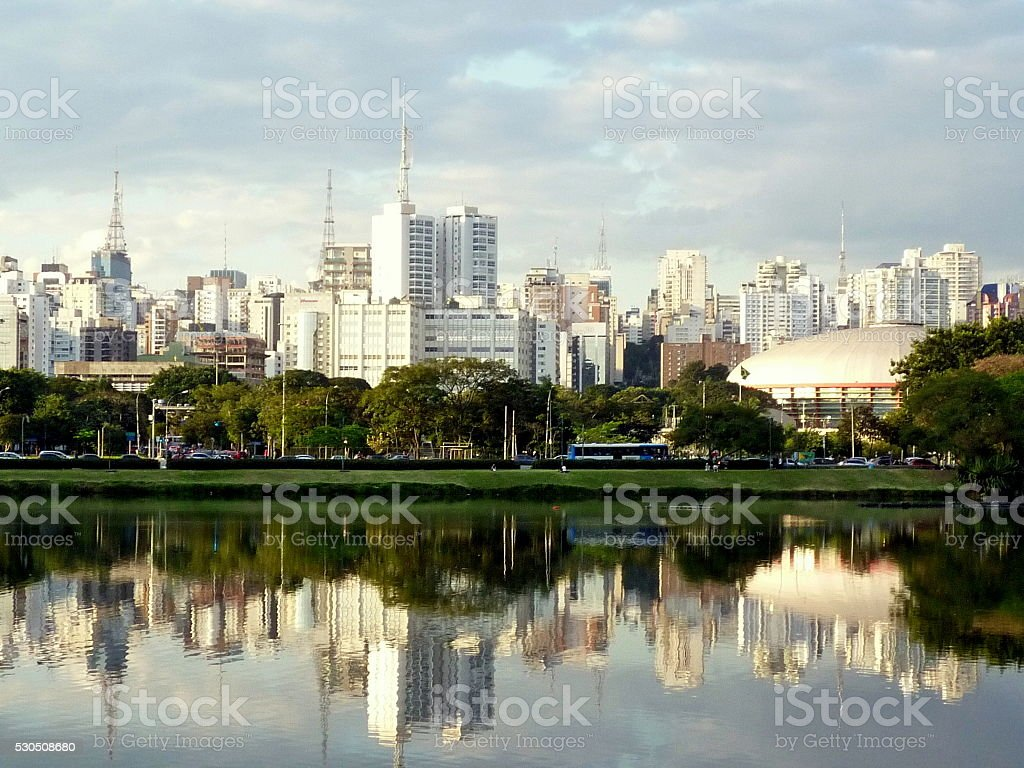 Brazil after the storm stock photo