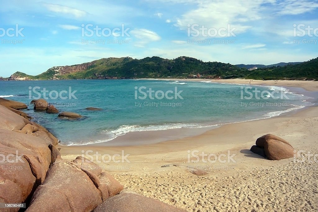 Brazil beach stock photo