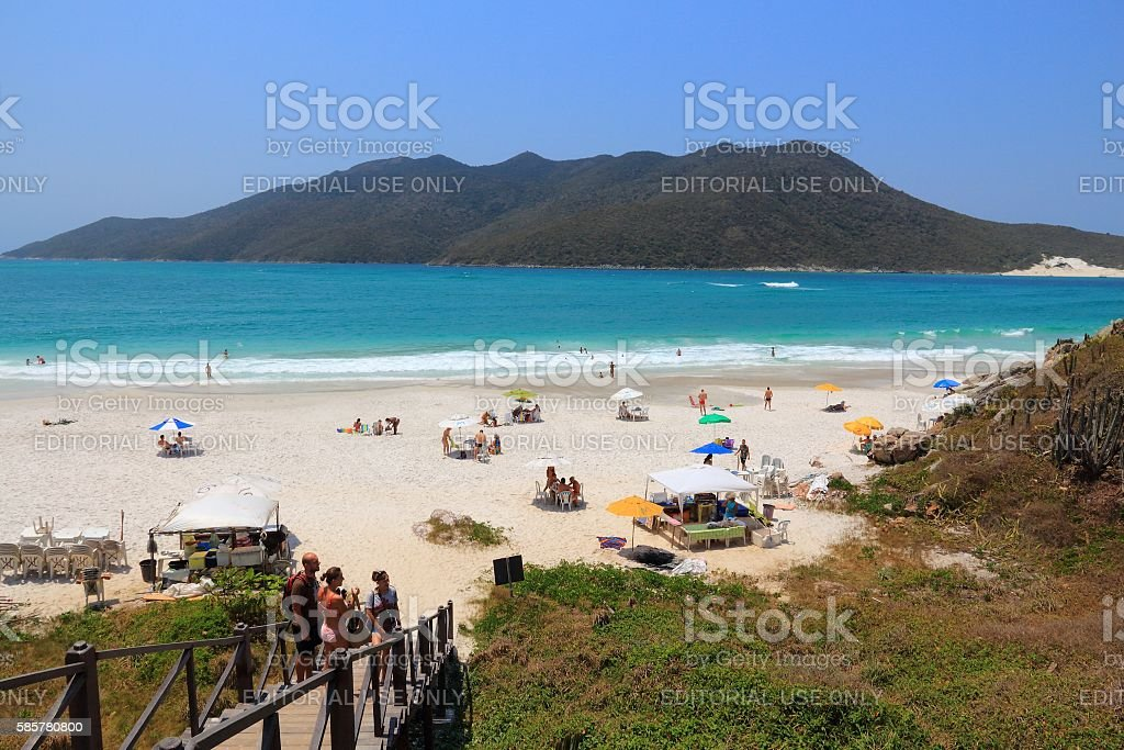 Brazil - Cabo Frio stock photo