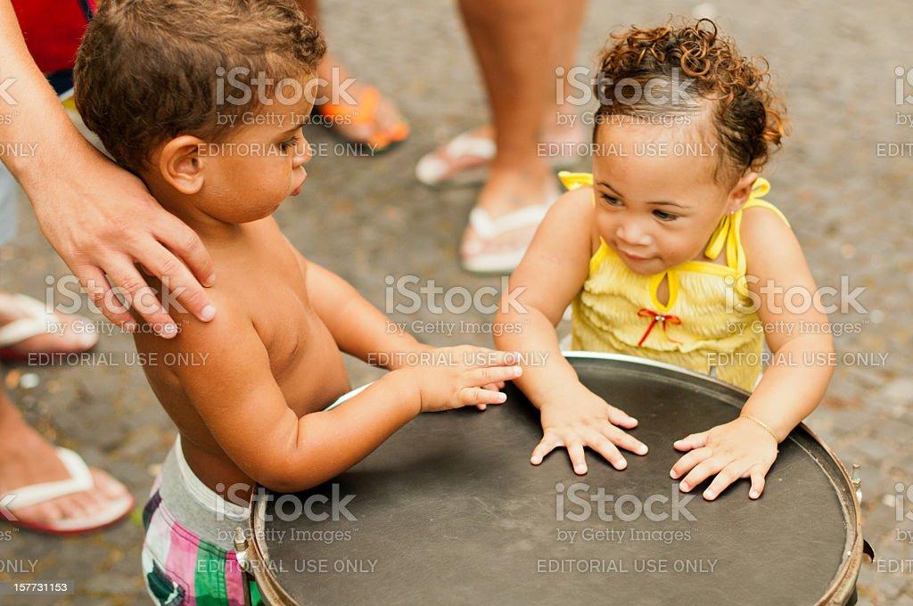 Brazil, Children of Rio stock photo