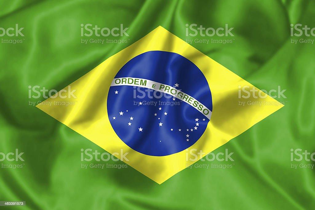 Brazil Flag - illustration stock photo