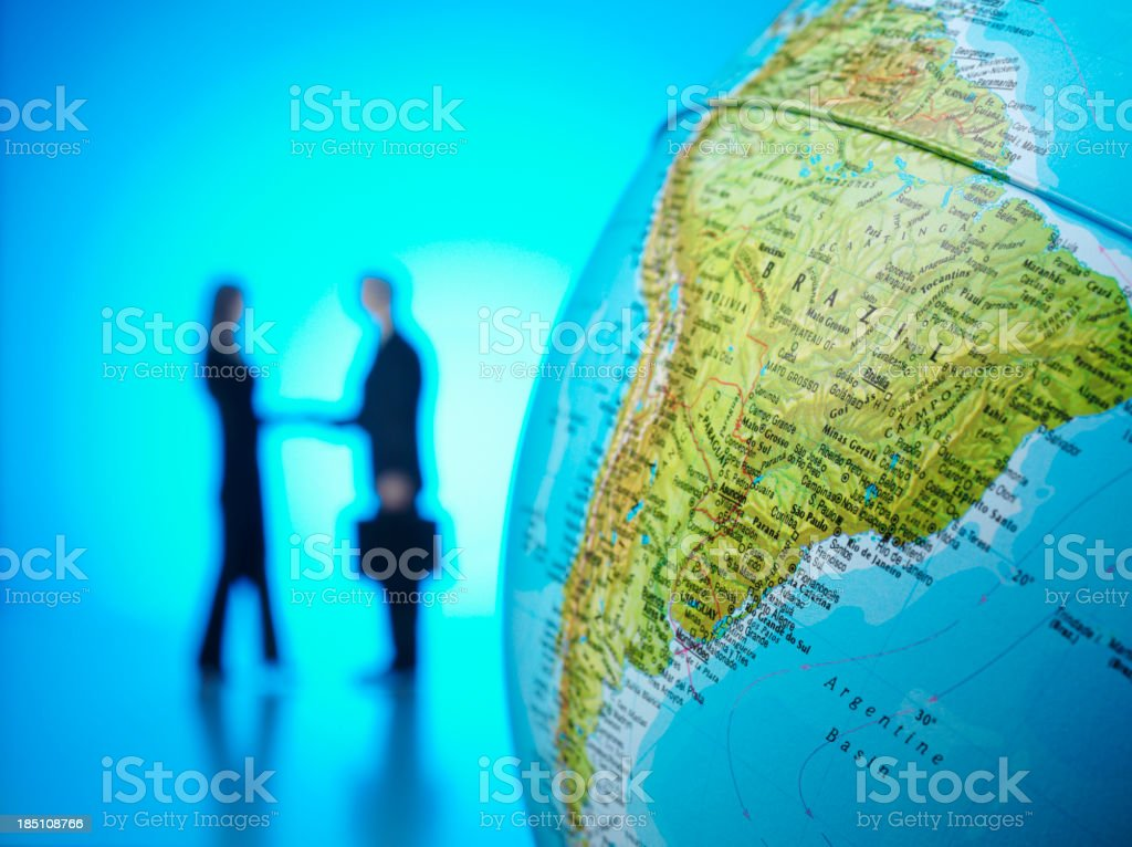 Brazil in Business stock photo