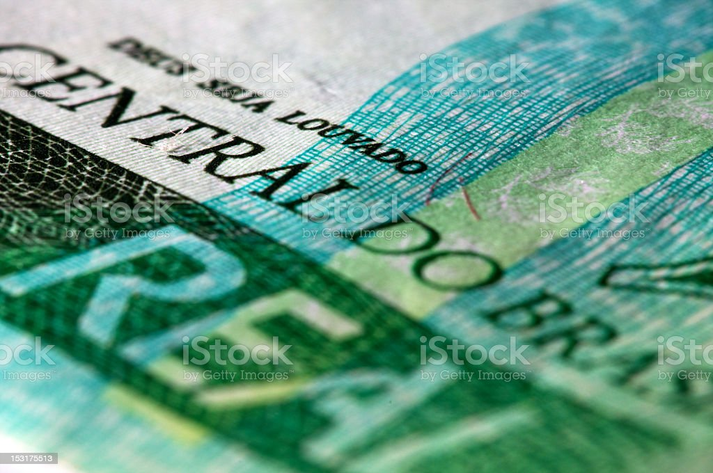 brazil money stock photo