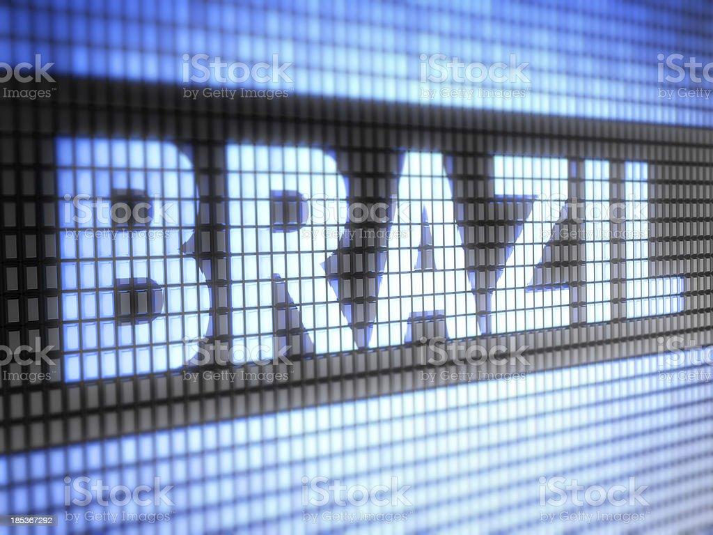 Brazil royalty-free stock photo