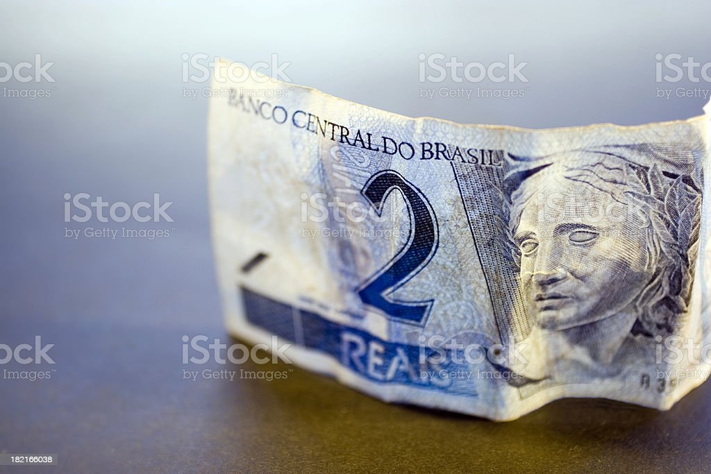 Brasil Real Macro stock photo