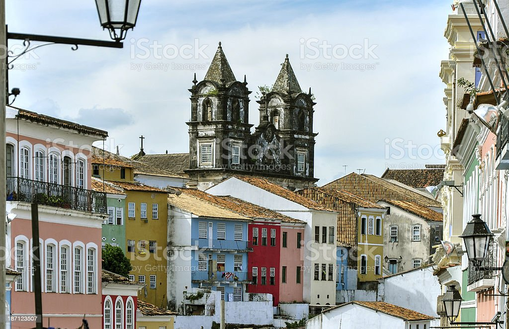 Brazil, Salvador de Bahia, Pelourinho stock photo