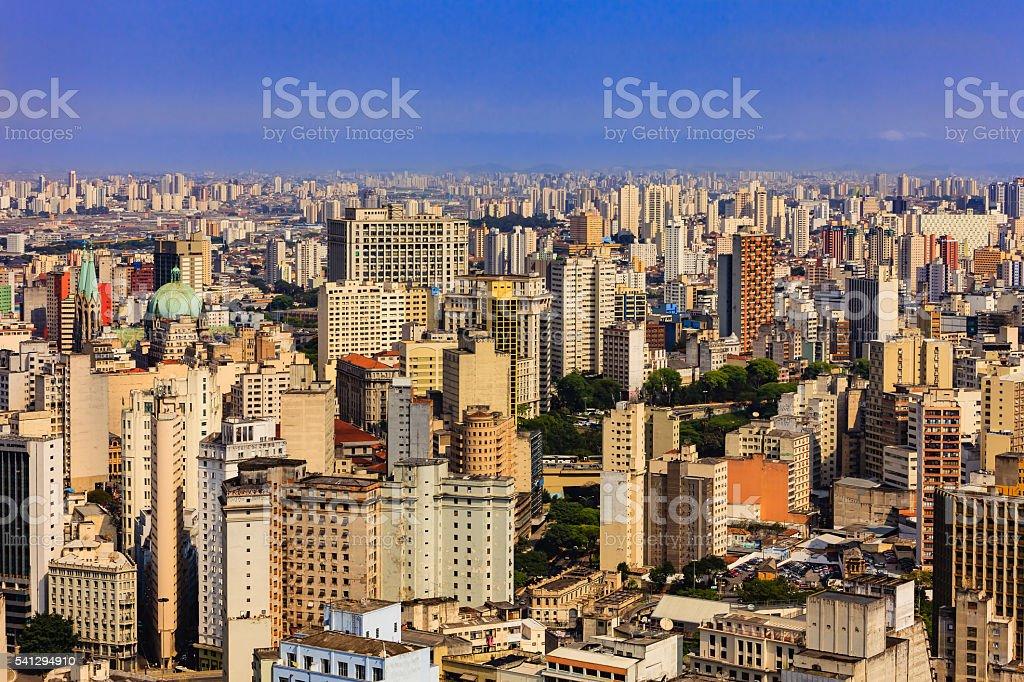 Brazil - Sao Paulo, South America's largest city stock photo