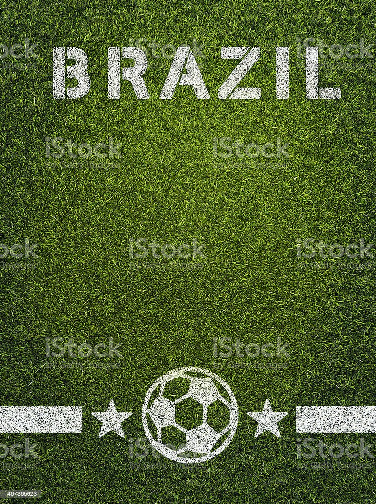 Brazil Soccer royalty-free stock photo