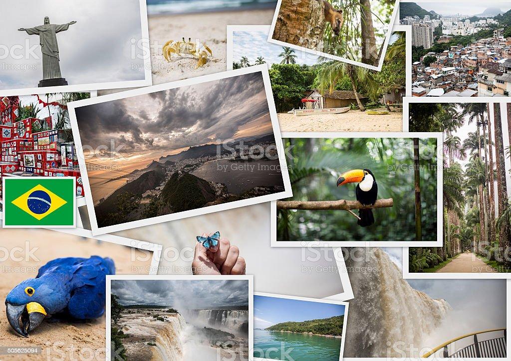 Brazil - Travel Collage stock photo