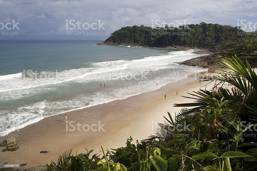Brazil, Tropical Beach. royalty-free stock photo