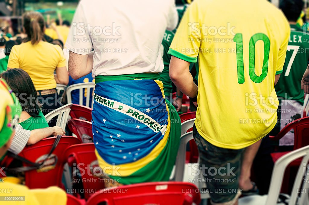 Brazil World Cup 2014 stock photo