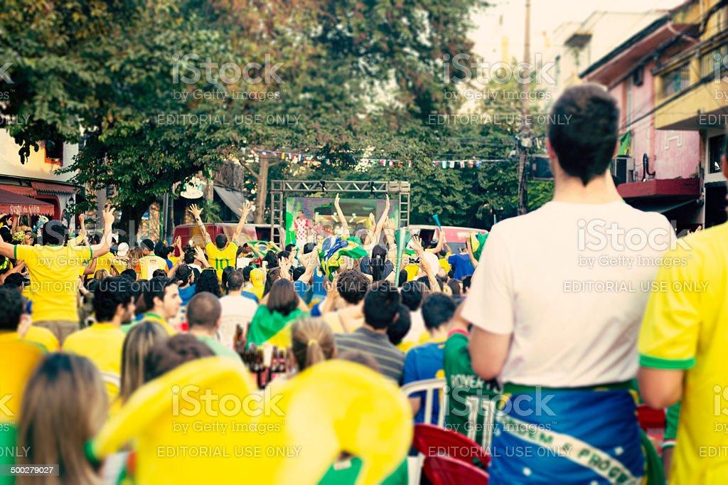 Brazil World Cup 2014 stock photo