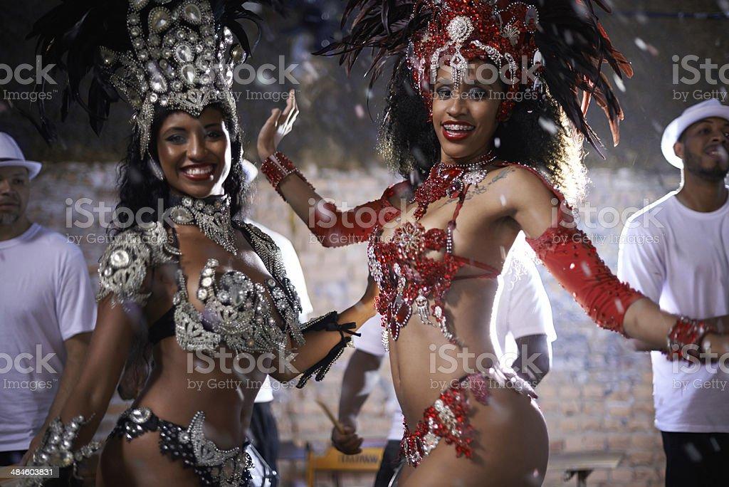 Brazilian beauties stock photo