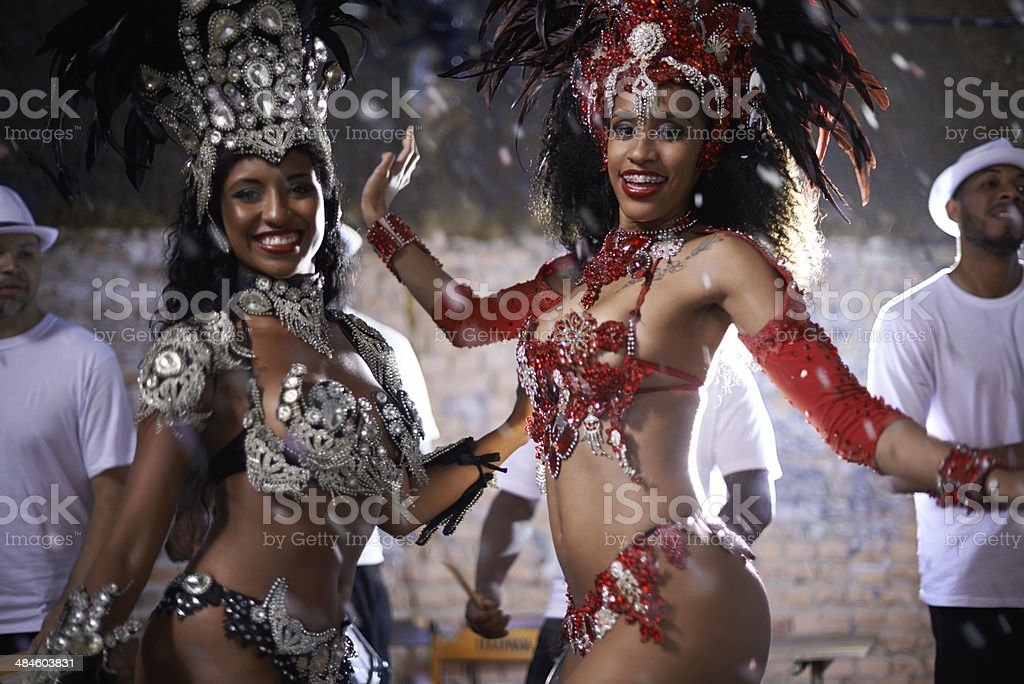 Brazilian beauties stock photo