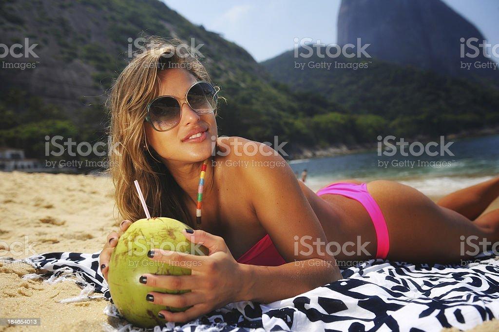 Brazilian Beauty royalty-free stock photo