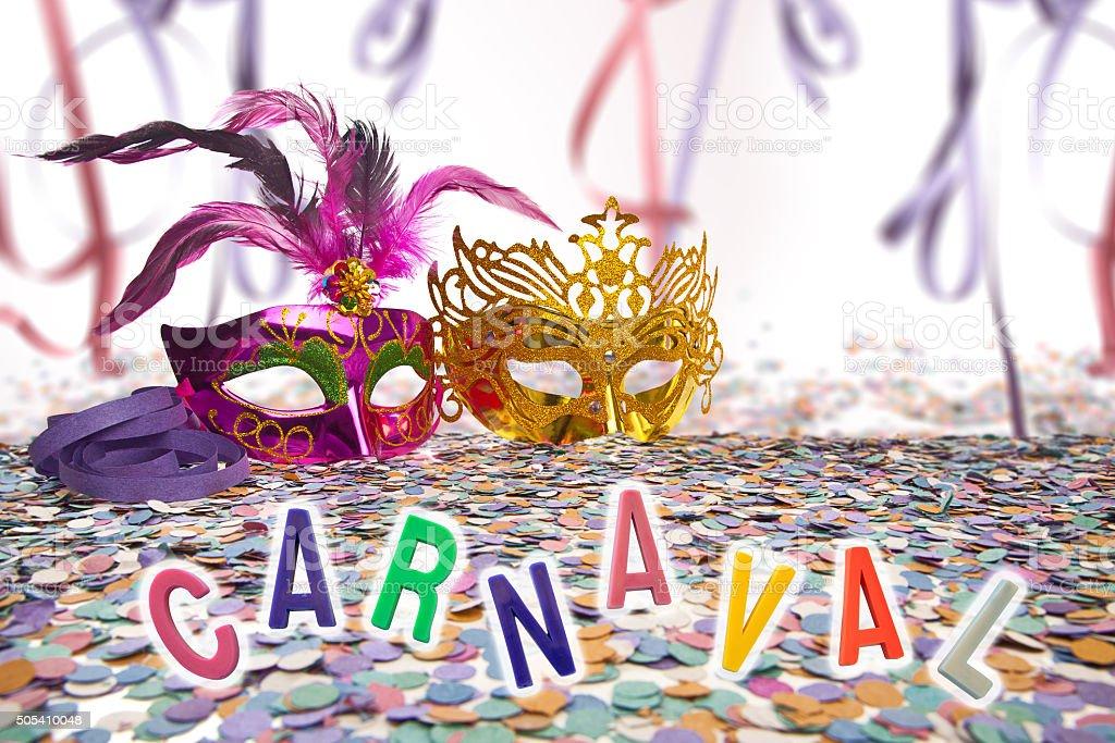 Brazilian Carnival background stock photo