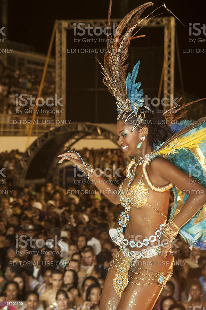 Brazilian Carnival royalty-free stock photo