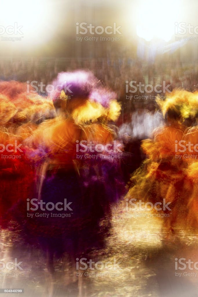 Brazilian dancers stock photo