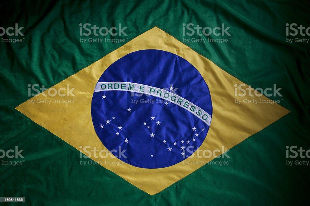 Brazilian Flag (serie) stock photo