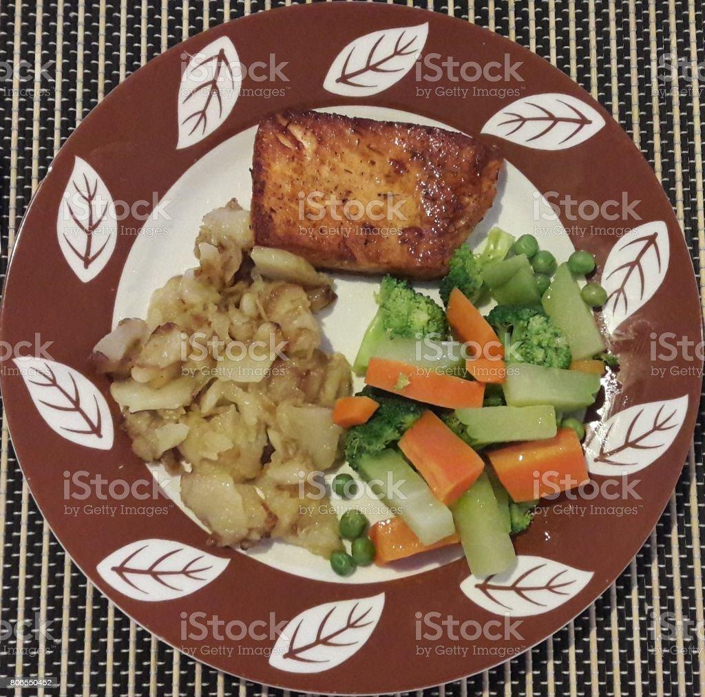 Brazilian food. stock photo