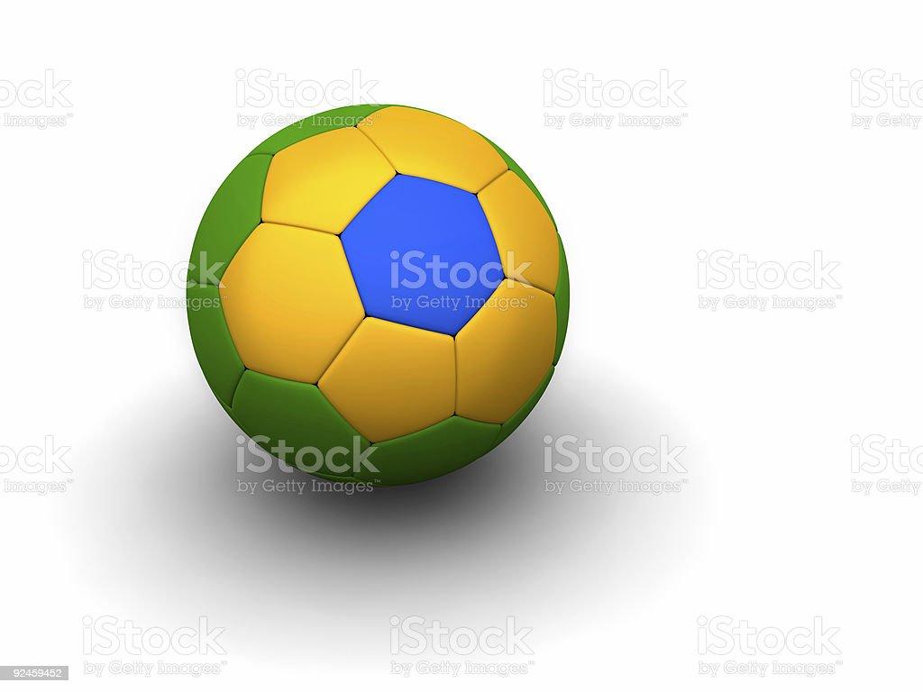 brazilian football stock photo