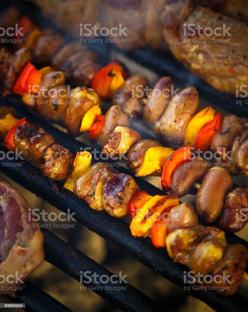 Brazilian grill stock photo