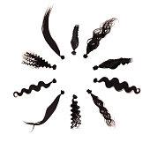 Brazilian hair extension.