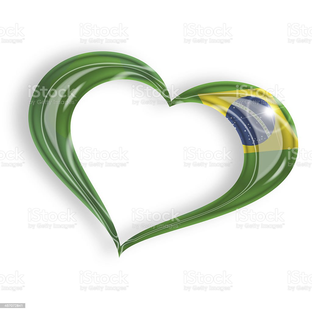 brazilian heart stock photo