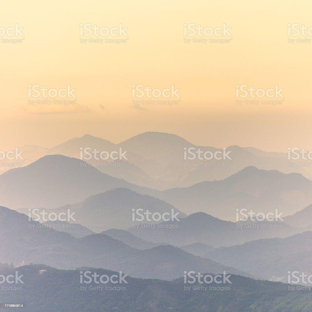 Brazilian landscape. royalty-free stock photo