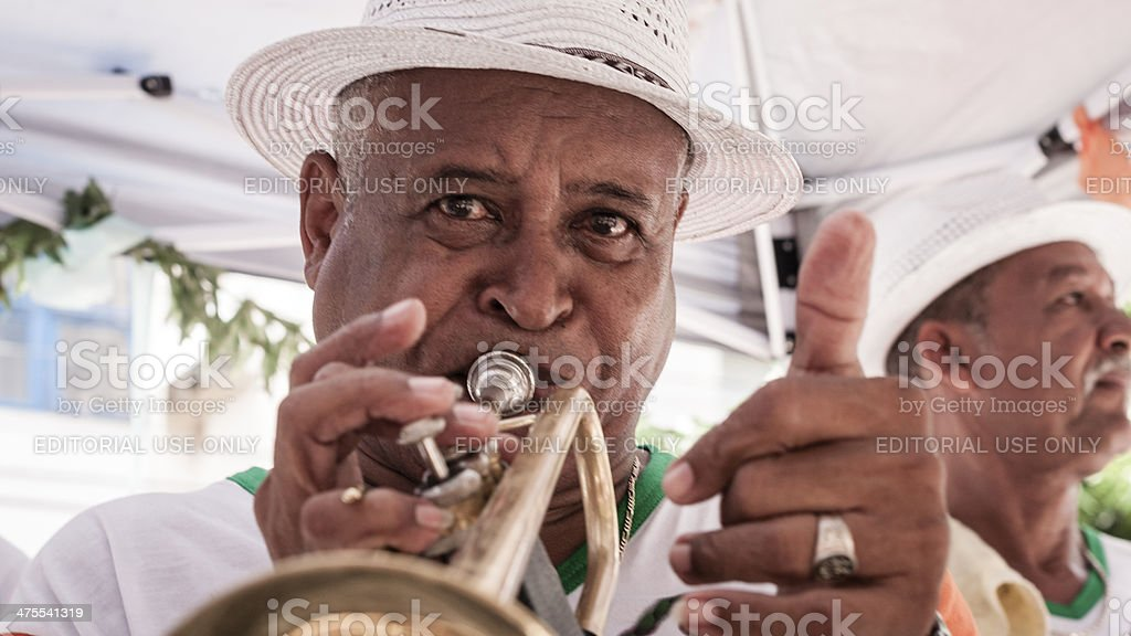 Brazilian Musician stock photo