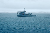 Brazilian Navy's Submarine Rescue Vessel near Maxwell Bay