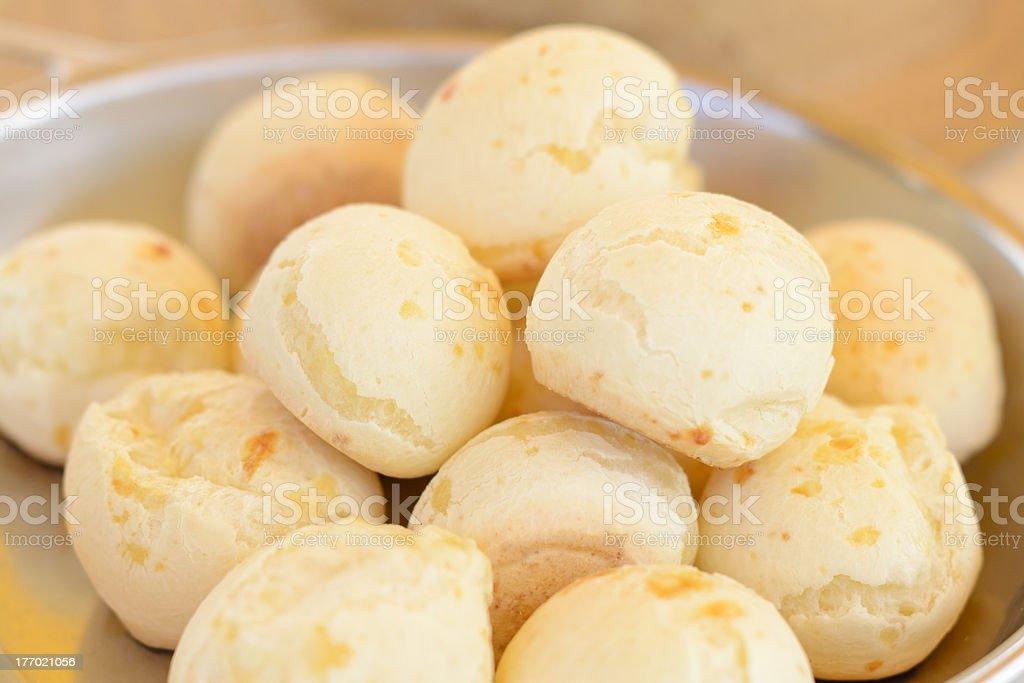Brazilian pao de queijo mineiro from Minas stock photo