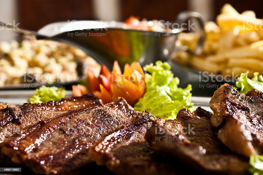 Brazilian picanha stock photo
