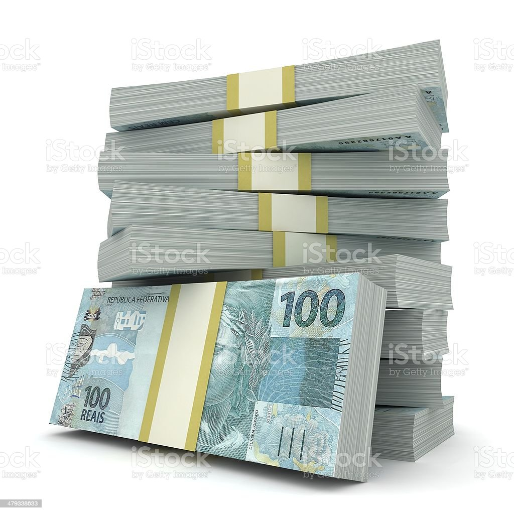 Brazilian Real stock photo