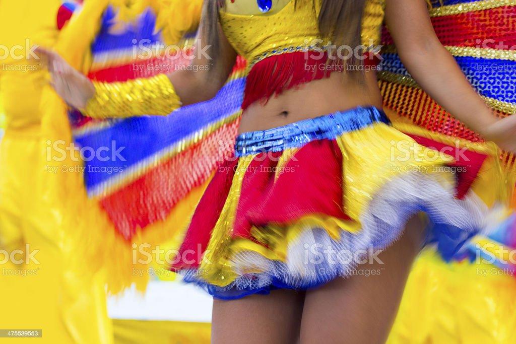 Brazilian samba dance stock photo