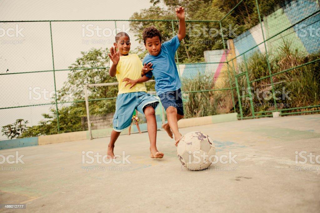 Brazilian Soccer stock photo