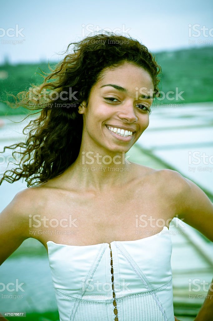 Brazilian Summer Beauty royalty-free stock photo