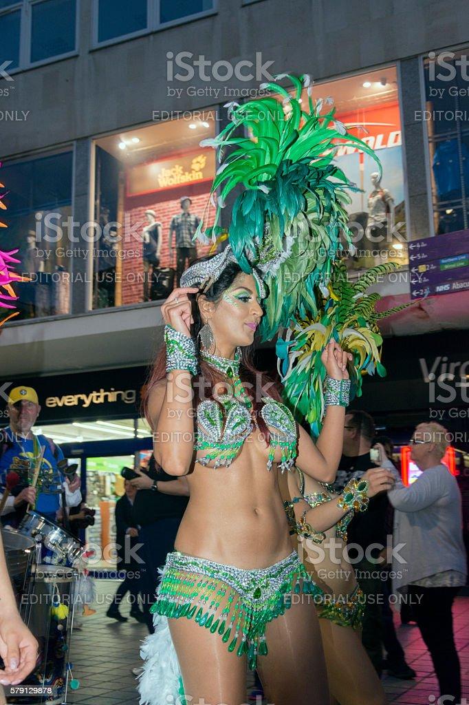 Brazilica 2016 Samba Street Dancer stock photo