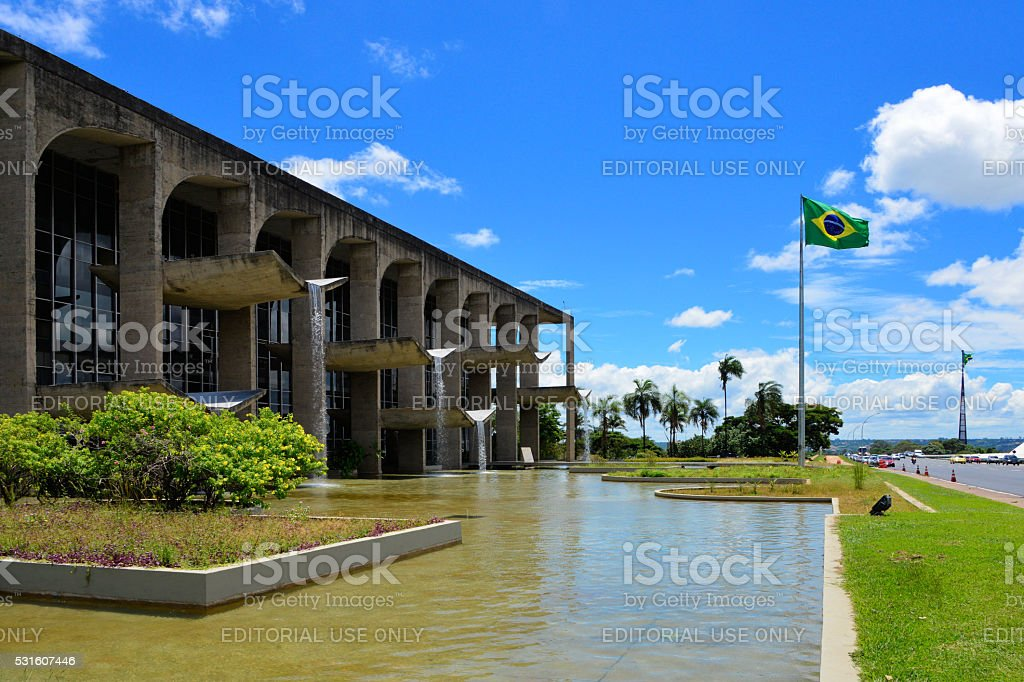 Brazil's Ministry of Justice, Brasilia stock photo