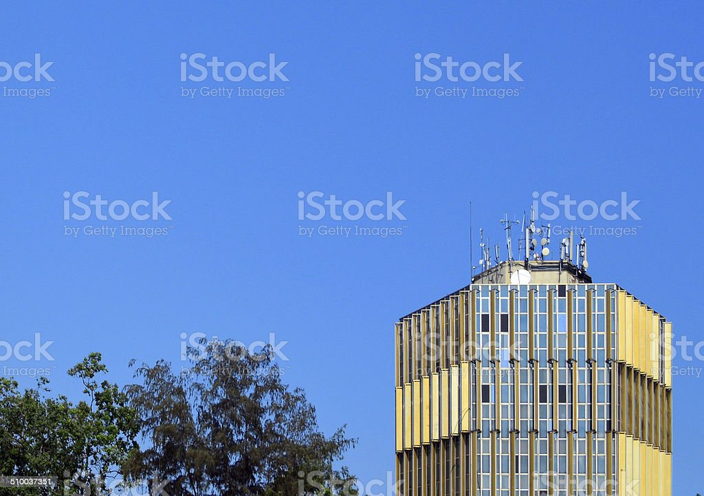 Brazzaville, Congo: Ministry of Planning stock photo