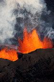 Bárdarbunga volcanic eruption, Iceland.