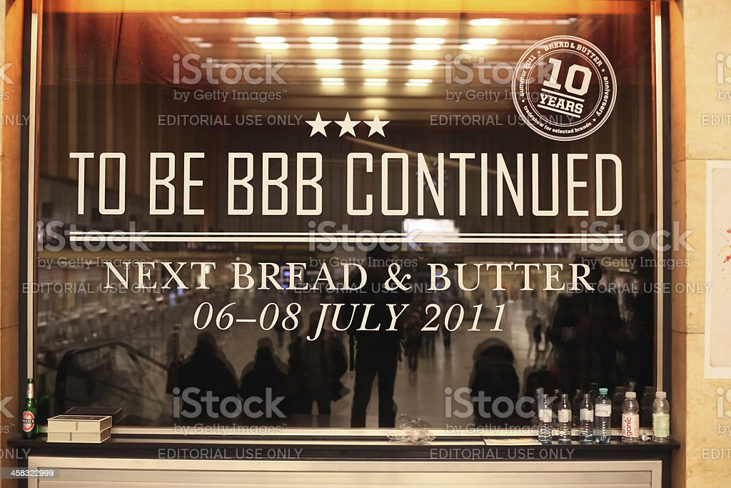 Bread & Butter Berlin 2011 royalty-free stock photo