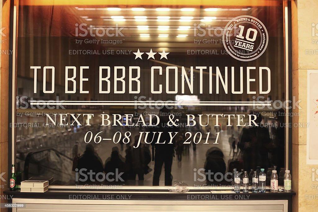 Bread & Butter Berlin 2011 stock photo